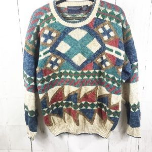 Northern Isles Vintage Hand loomed sweater size L